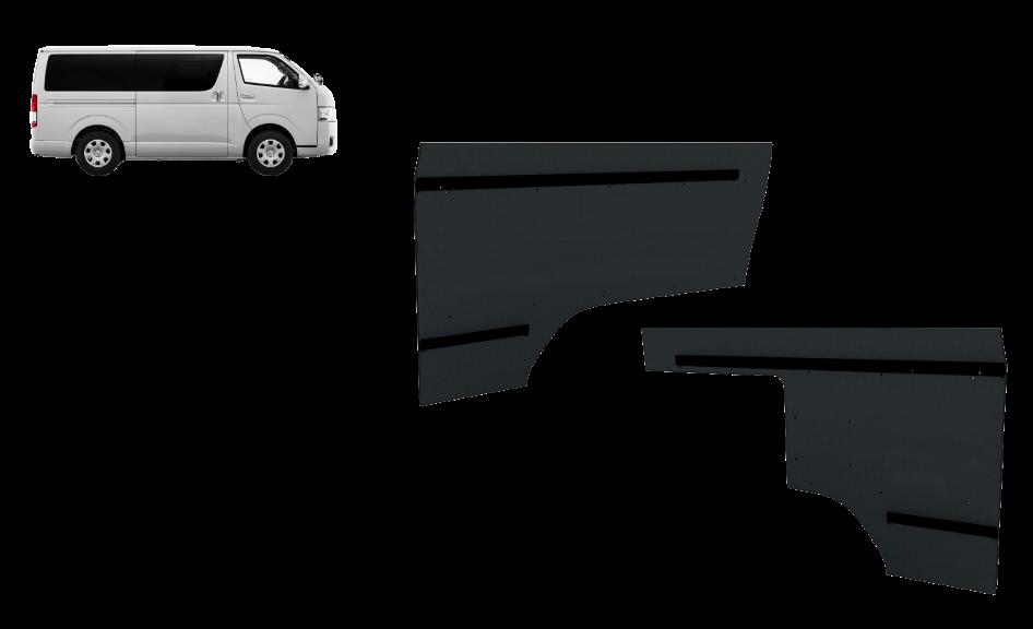 トヨタ・ハイエースロング標準ルーフS-GL