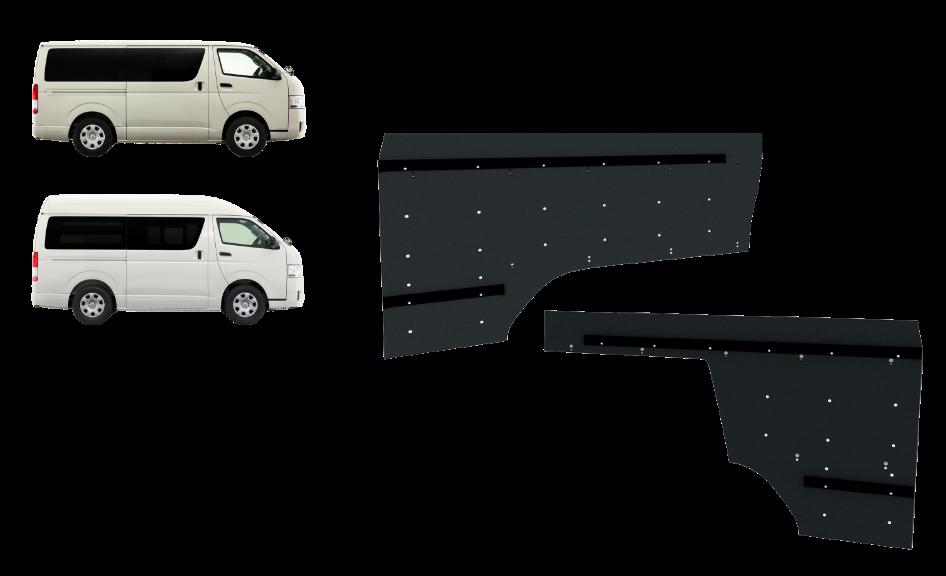 トヨタ・ハイエースロング標準/ハイルーフ DX/DX GL-P