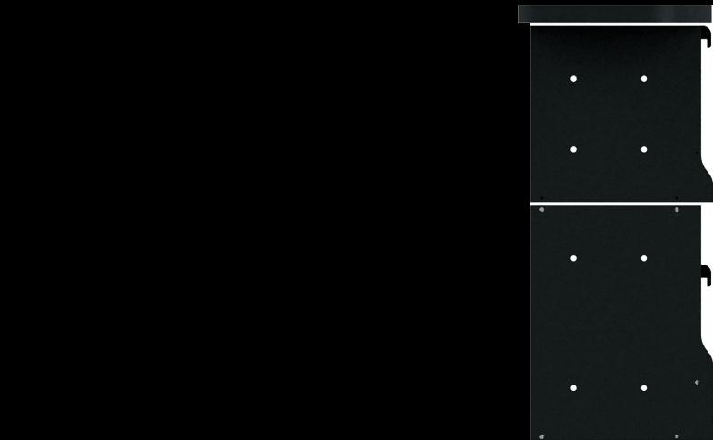 右面:2段<br>左面:なし