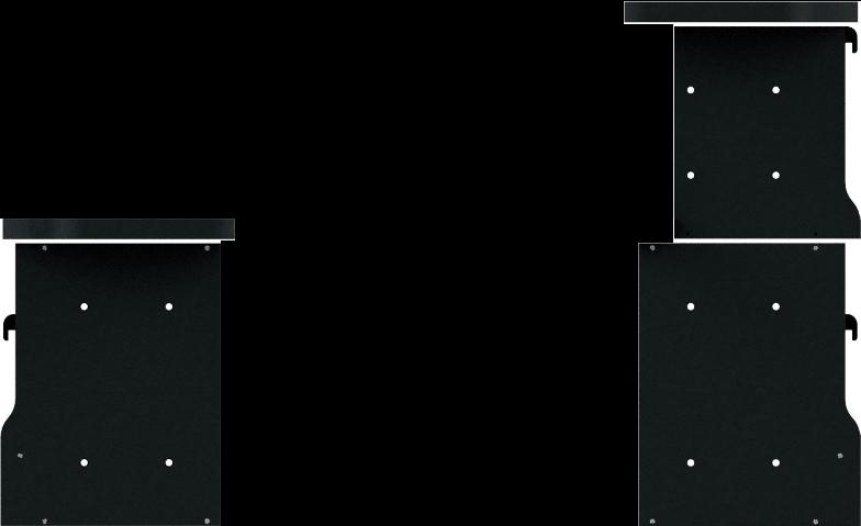 右面:2段<br>左面:1段