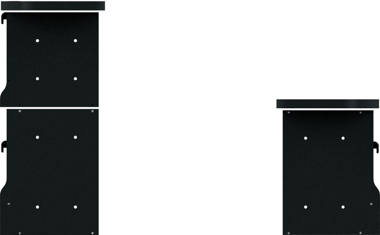 右面:1段<br>左面:2段